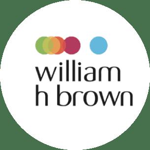 william h brown logo