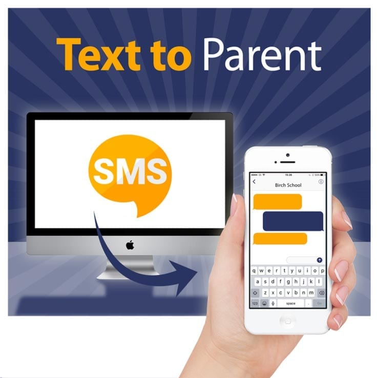 Text to parent