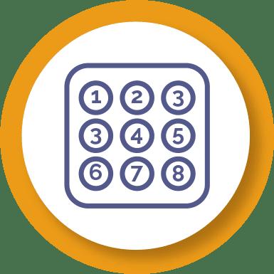 Keypad icon